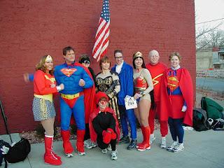 super heroes frikis
