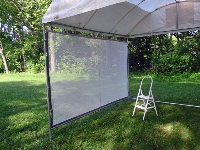 My Flourish tent came with a waterproof vented top with skylight illumination panels to let more light in 3 lower stabilizer bars 3 heavy duty mesh ... & Creative Art and Soul: Good-bye EZ-UP! Hello Flourish Trimline!!!
