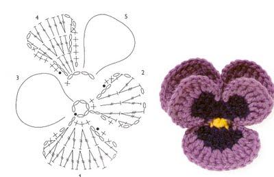 Схемка цветка.