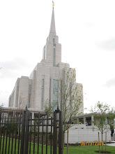 The Oquirrh Mountain Utah Temple