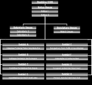 Osis Netima Struktur Organisasi Osis