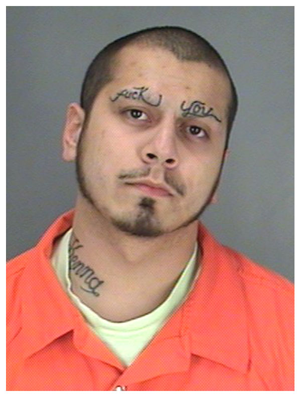 lettering eyebrow tattoo