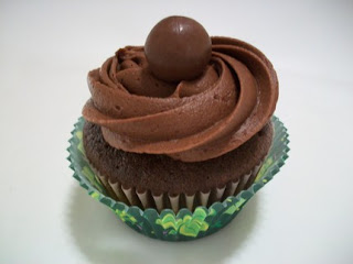 The Colin Farrell ... Chocolate Guinness Cupcake