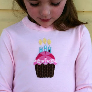 Pink Chocolate Cupcake with Candles T-shirt