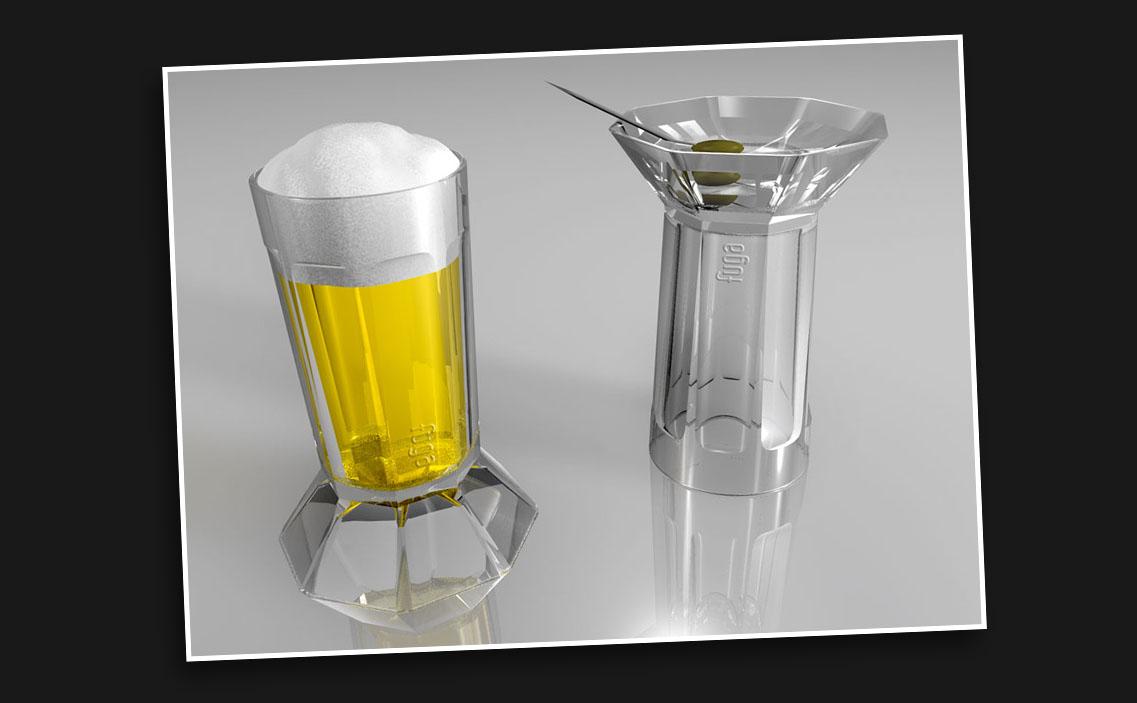 Chin Chin - vaso doble uso