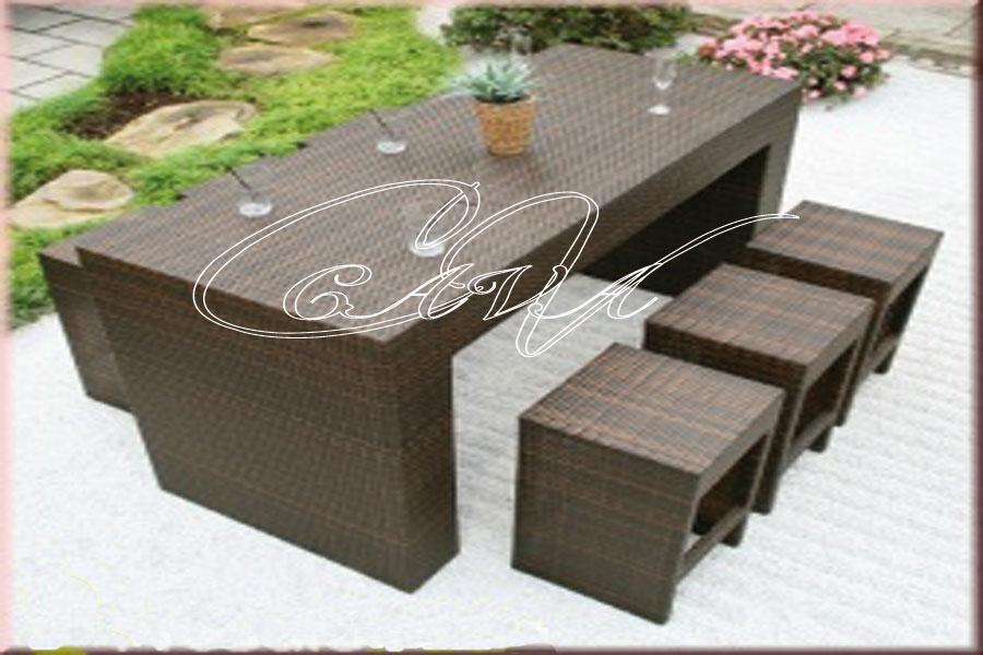 Muebles de mimbre rattan kraft for Rattan muebles