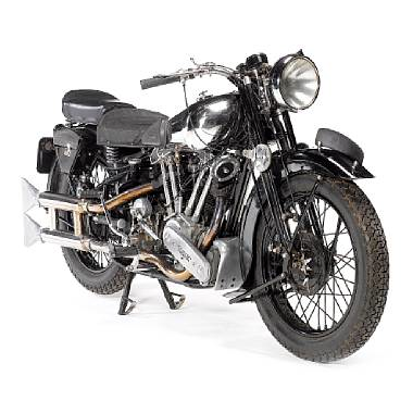 1938, Brough Superior SS100