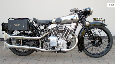 1929, Brough Superior SS100