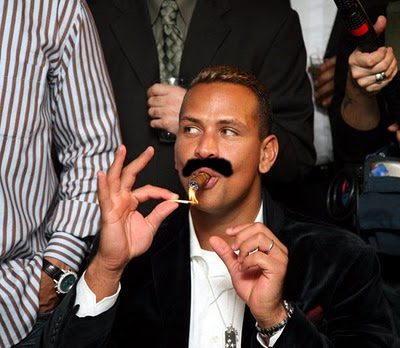 A-Rod as Cigar Guy