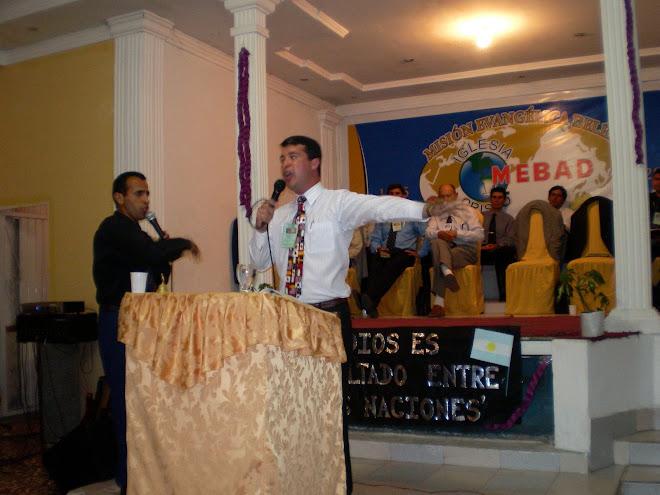 Pr. Alexandre ministra em Mendonza - Argentina