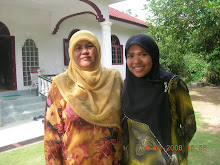 with my mom
