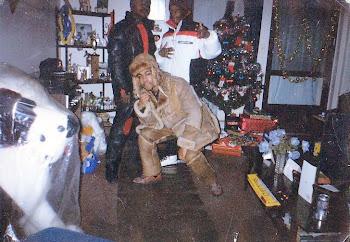 Remember da 80's.....Shout out to Hood wit da ski wear & Beans wit da leather goosedown suit