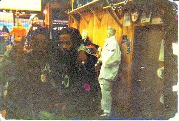 Raekwon & Fresh Dre 90s...Fleece Polo tracksuit, Polo boots.Tyson modeled this suit for Macys