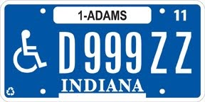 Jacob 39 s license plate blog indiana making all plate for Indiana bureau of motor vehicles phone number