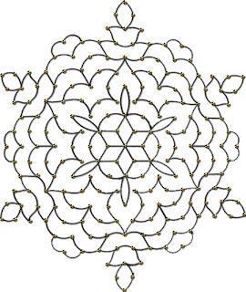 More printable rangoli outline patterns in Ms Word: http://www ...