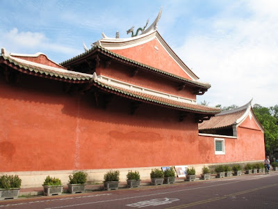 台南古蹟 祀典武廟山牆