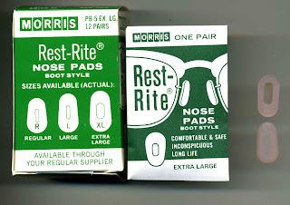 Morris Rest-Rite nose pads pince-nez