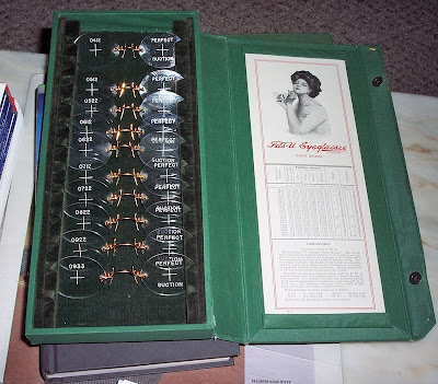 pince nez fitting set fits-u fingerpiece american optical