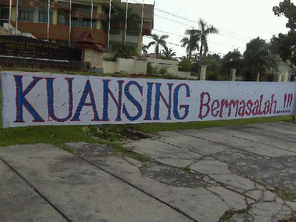 Petisi Radikal Kuansing Bermasalasah