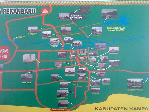 Pekanbaru City Map