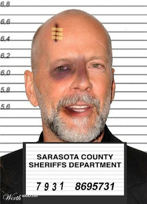 Bruce Willis, Photoshopped Celebrity Mugshots