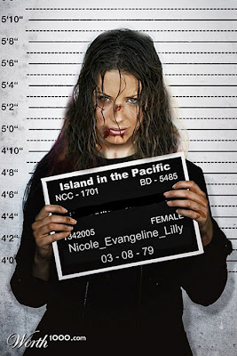 Evangeline-Lilly, Photoshopped Celebrity Mugshots