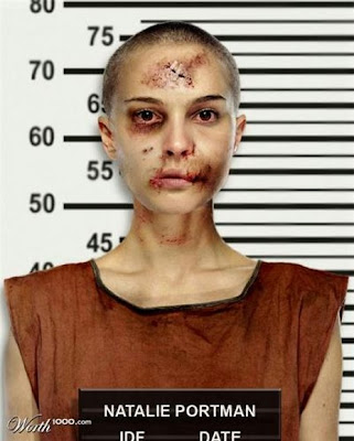 Natalie-Portman, Photoshopped Celebrity Mugshots