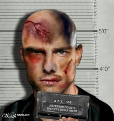 Tom-Cruise,Photoshopped Celebrity Mugshots