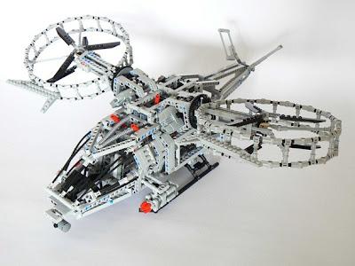 LEGO Helicopter Film Avatar