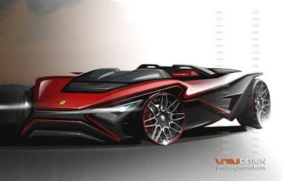Ferrari Imola Supercar, New Concept By John Mark