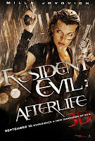 Resident Evil 4 Afterlife Movie Trailer, Resident Evil Afterlife 3D