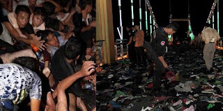 Foto Kerusuhan Festival Air Kamboja