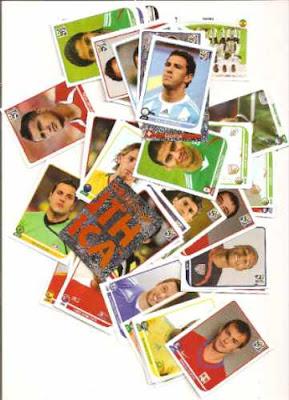 Copa 2010, Copa, do mundo, album, de figurinhas, jogadores