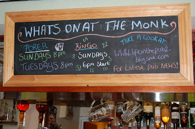 What's on in the pub