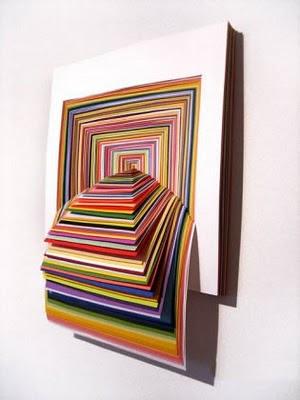 amazing 3d construction paper sculptures art amazing arts