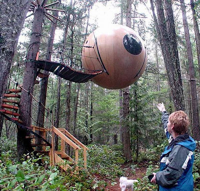 Weird Cool Things: Bizarre Tree houses