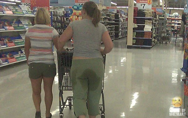 Funky woman people of walmart they really are real