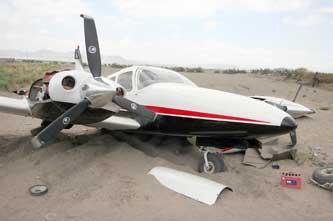 Reconoce Segob incidente similar al de la avioneta en Guadalupe Victoria