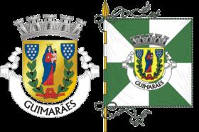 Brasão e bandeira/ Coat of arms and city flag