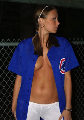 topless cubs fan