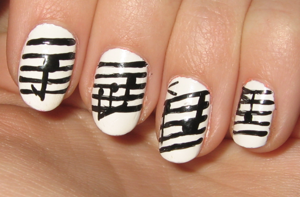 Nail Designs Music Nail Art Designs