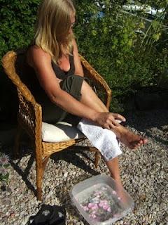 Heiße Tage - kühle Füße