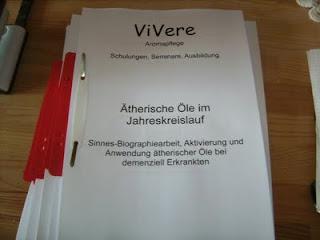 Aromatherapie / -pflege Seminare im Überblick