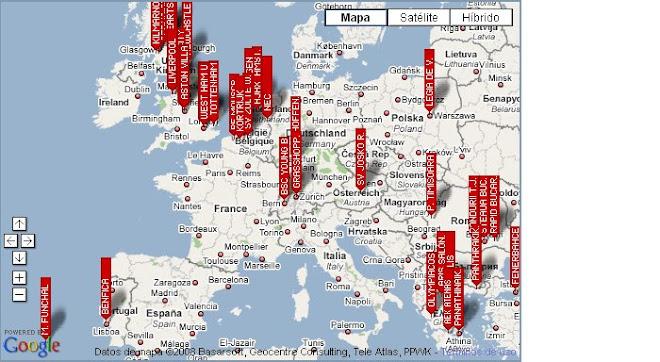 Mapa Españoles por el Mundo