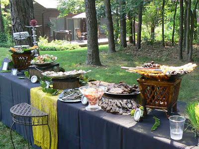 backyard bbq wedding ideas Capitol Romance Practical Local