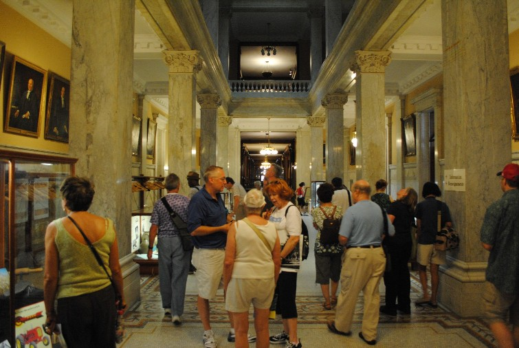 David Bogart Led The Heritage Toronto Queens Park Walk Inside West Wing Of Legislative Assembly Building On 17 July 2010