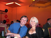 David J Howe and me at the Banquet