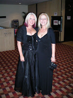 Me and Sharna in our Banquet outfits
