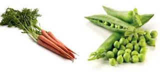 ALFACAROTENOS  de zanahorias o guisantes se asocian con un menor riesgo de mortalidad