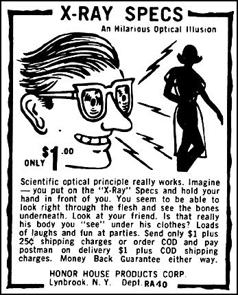 How To Xray. How To Make X-ray Glasses